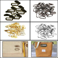 50/100pcs Brass Oval Eyelets Washers 10mm-40mm Grommets Handbags Canvas Crafts