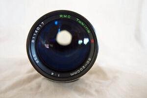 KONICA AR......TOKINA RMC  80-200 f4 ZOOM lens