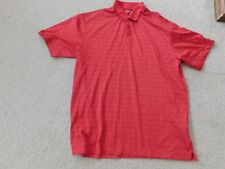Nike Golf Red/ Black/ Orange Fit Dry Shirt Size Xl