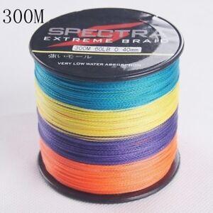 300M Multicolor 6LB-100LB Fishing Line High Quality PE Braided Fishing Wire L01