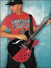 Rage Against the Machine Tom Morello Ibanez Artstar guitar 8 x 11 pinup photo