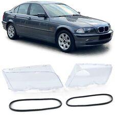 Scheinwerfergläser Streuscheiben Paar für BMW 3er E46 Limousine Touring 97-01