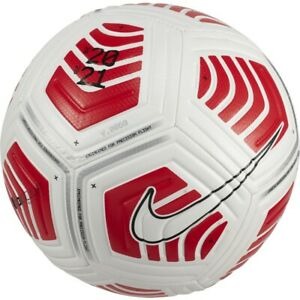 FOOTBALL NIKE STRIKE NEW 2021 MATCH QUALITY SIZE 3 WHITE/RED