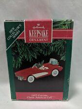 1991 Hallmark Keepsake Ornament 1957 Corvette Classic American Cars #1
