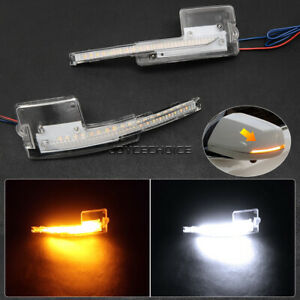2X LED Dynamic Side Mirror Sequential Light For Cadillac XTS 2013 2014 2015-2019