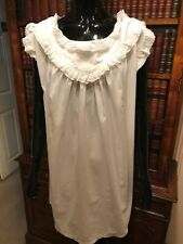 Vintage Antique White Ladies' Nightdress Nightie Nightgown
