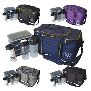 Food Prep Bag Meal Management Gym Weight Loss Fitness Training Protein Lunch Box
