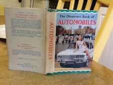 Observers Book Of Automobiles 1967: