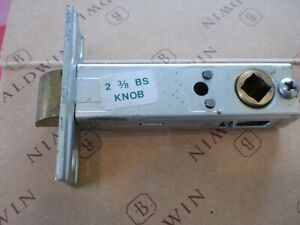 """Baldwin Images 2-3/8"""" BS Knob Passage Latch Bolt 8510R 040 05105 Used FREE SHIP"""