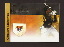 Andrew McCutchen--2012 Topps Golden Moments Baseball Card--Pittsburgh Pirates