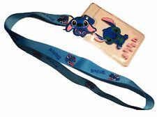 Disney's Lilo & Stitch ID Holder LANYARD Keychain