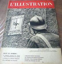 Revue L' ILLUSTRATION 1939, début de guerre…