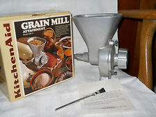 Kitchen Aid Seed Grain Mill Attachment Hobart Model GM-A Fits K45 and K5A