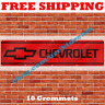 Chevrolet Banner Flag 2x8Ft Chevy Car Truck Racing Banner Garage Man Cave Decor