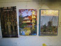 vintage Japan scenic postcards 1980s NARA KYOTO in original sleeves MINT FreeShp