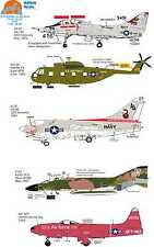 Wolfpak Decals 72-075 Riders on the Storm SIKORSKY SKYHAWK CORSAIR PHANTOM NAVY