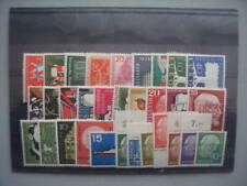 ALEMANIA / GERMANY BUND - COMPLETE YEAR 1957, MNH (89% DISCOUNT Cat.)