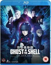 GHOST IN THE SHELL - THE NEW MOVIE BLU-RAY [UK] NEW BLURAY