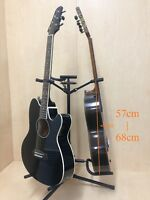 Two(x2) Durable Haze GS012 Metal-Rubber Structure,Tripod-Base 3-Guitar Stand