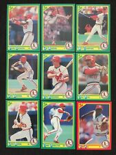 1990 Score St. Louis Cardinals Complete Team Set!!