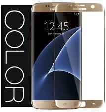 9H Hart Gehärtetes 3D HD+ Panzerglas SCHUTZFOLIE f. Samsung Galaxy S6 Edge GOLD▀