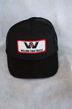 HAT WESTERN STAR TRUCKS WITH PATCH ADJUSTABLE SNAP SIZING COLOR BLACK