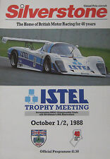 1988 ISTEL Trophy Meeting, Silverstone Official Programme