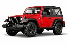 Maisto 1:18 2014 Jeep Wrangler Red Diecast Model Car Vehicle NEW IN BOX
