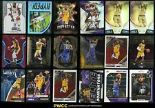 Lot(36) 2018-19 Prizm Threads Optic Select Lakers LeBron James, NM-MT to GEM MT