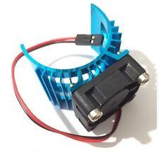 Eléctrico Rc 1:10 coche 540 550 3650 Motor UPGRADE aleación disipador de calor y refrigeración Ventilador UK