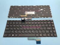 Original New For Lenovo E31-70 E31-80 Laptop Hebrew Keyboard With Backlit