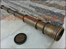 MARITIME TELESCOPE MARINE ANTIQUE BRASS PIRATE SPYGLASS VINTAGE SCOPE HANDMADE