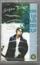STEFANO BORGIA - Con chi lo guardi questo cielo - MC MUSICASSETTA 1998 SIGILLATA