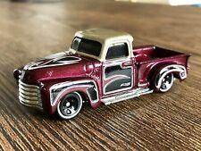 Hot Wheels Treasure Hunt 52 Chevy Pickup Loose 2012 Metal Base 2012 Diorama