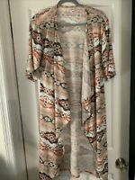 New LuLaRoe With Out Tags Shirley Size Small Kimono Draped Open Front Aztec
