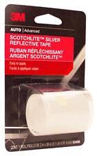 """3M Scotchlite 2"""" x 36"""", Silver Reflective Safety Tape 03456"""