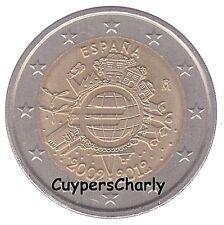 Spanje 2012 II 2€ UNC 10 jaar Euro TYE
