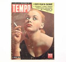 RIVISTA - TEMPO N. 24 1955 - NORMA SYKES, ELSA MAXWELL, I 20 FILM DA SALVARE