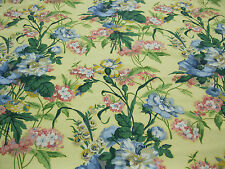 Waverly Fabrics Pattern Oakhurst Royal Court Collection Cotton  1.9 Yds x 53 In