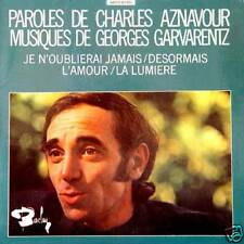 CHARLES AZNAVOUR Je N'oublierai Jamaisi FR Press 2 Ep