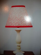 New Kenneth Brown Sweet Stitches Lamp Base & Shade