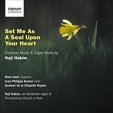 Set Me As a Seal Upon Your Heart: Chamber Music, New Music