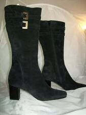 BARNEYS NEW YORK CO OP LACIE BLACK SUEDE 36.5 6.5