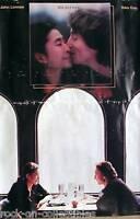 John Lennon & Yoko Ono 1984 Milk & Honey Original Jumbo Promo Poster The Beatles