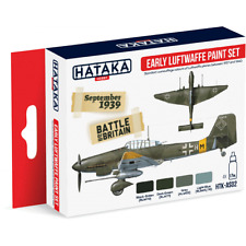 Hataka Hobby Early Luftwaffe paint set HTK-AS02