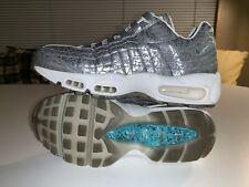 Nike Air Max 95 Anniversary QS Size 7 Pure Platinum/Metallic Silver 818721-001