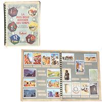 ALBUM SUCHARD COMPLET 192 IMAGES CHROMOS COLLECTION AU BERCEAU DE LA CREATION