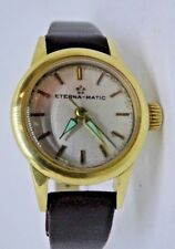 Eterna - Matic 18ct Ladies Gold Watch