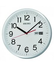 Seiko Wall Clock With Day & Date - Qxf104s