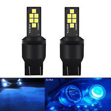 A1 AUTO 2x 7440 7443 LED Bulbs Ice Blue High Bright SMD 3030 Turn Signal Light